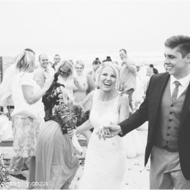 Clinton & Danel's DIY Beach Wedding