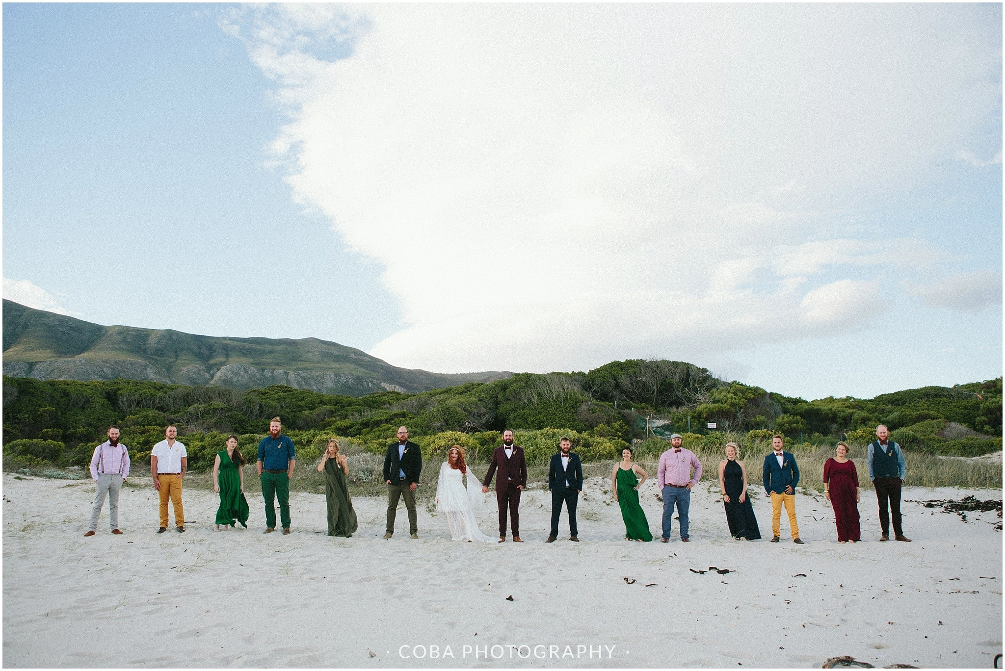 Conrad & Mareli - Bohemian beach wedding - (1)