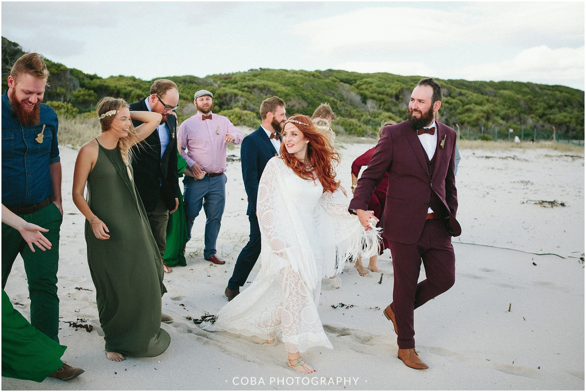 Conrad & Mareli - Bohemian beach wedding - (3)