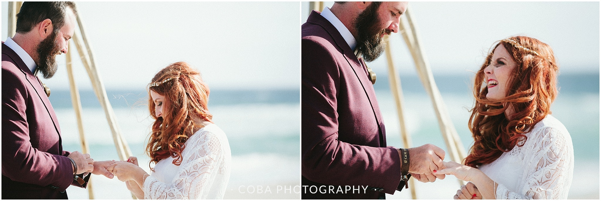 Conrad & Mareli - Boho beach wedding - ceremony (16)