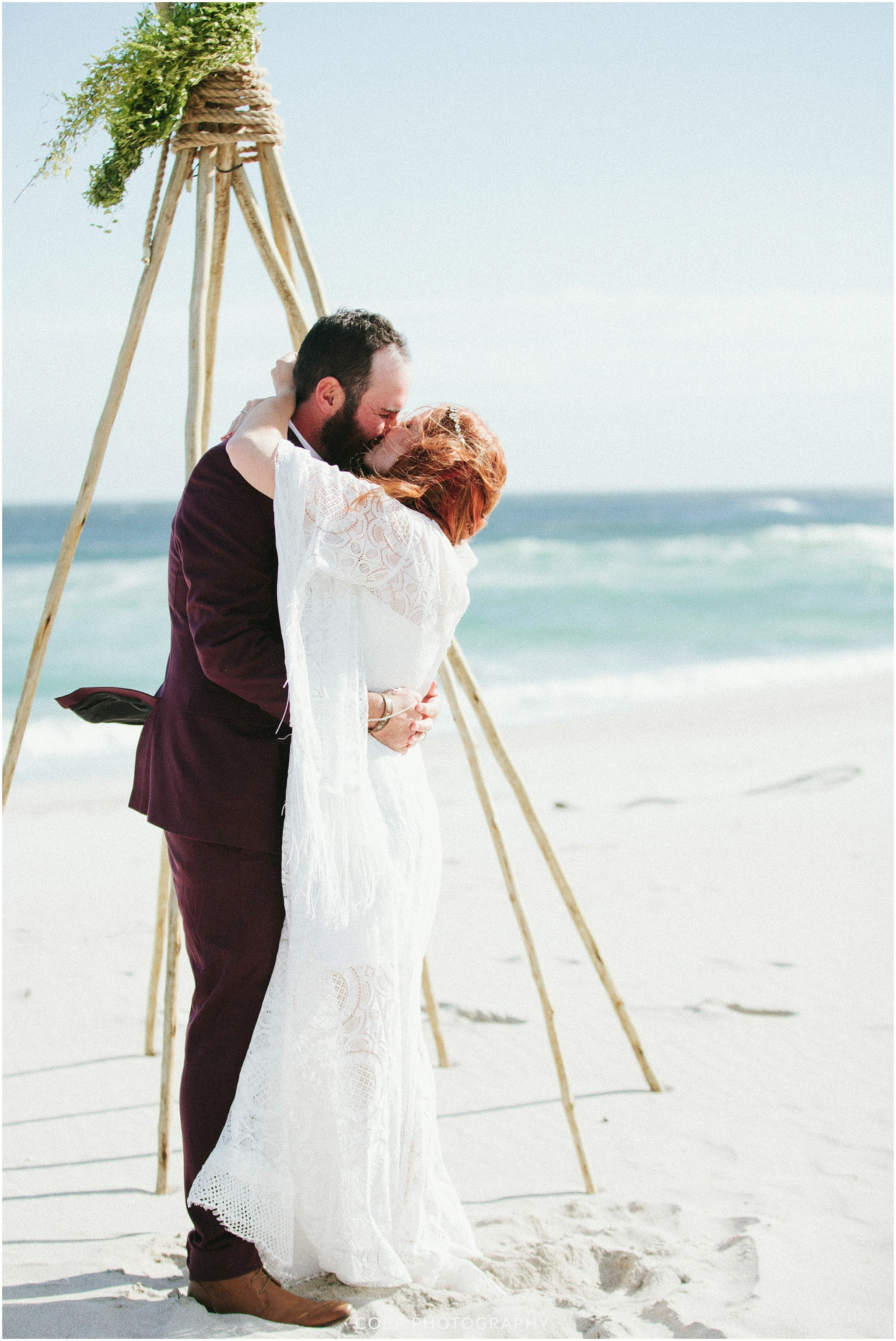 Conrad & Mareli - Boho beach wedding - ceremony (17)