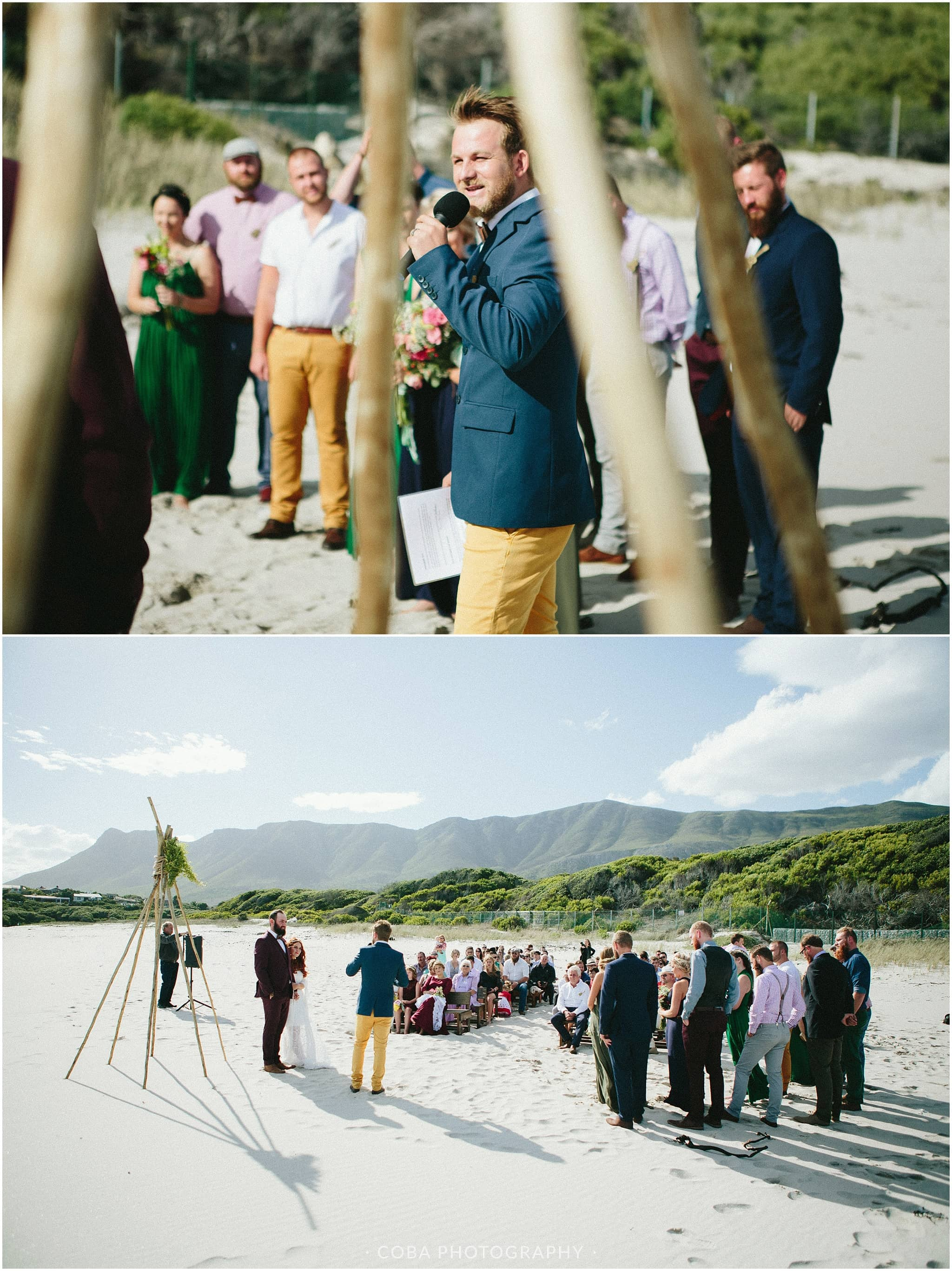 Conrad & Mareli - Boho beach wedding - ceremony (8)